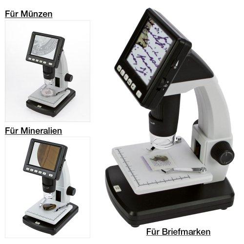 digital mikroskop med led skärm