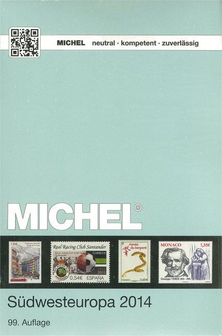 Michel frimärkskatalog sydeuropa