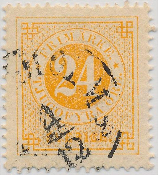 nyanser på svenska frimärken