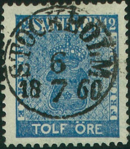 färgnyanser på svenska frimärken