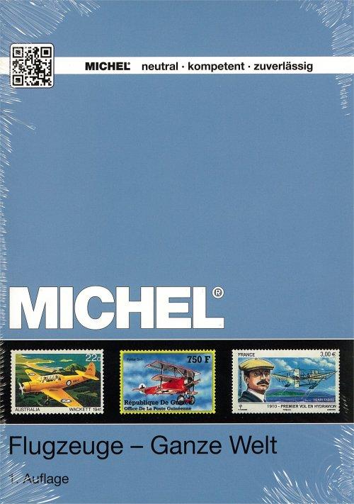 Michel frimärkskatalog över flygmotiv